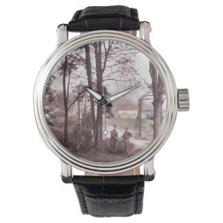 Fábrica Francia del globo de presa Relojes De Pulsera