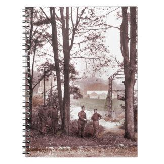 Fábrica Meudon Francia 1918 del globo Notebook