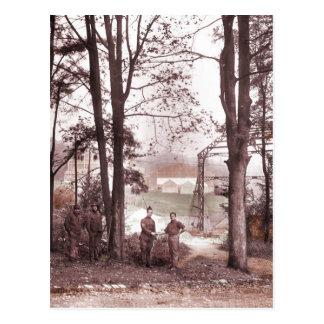Fábrica Meudon Francia 1918 del globo Tarjetas Postales
