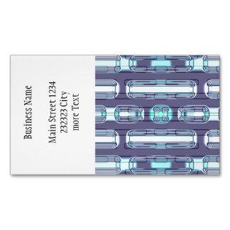 fábrica moderna 01 del modelo tarjetas de visita magnéticas (paquete de 25)