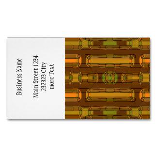 fábrica moderna 01b del modelo tarjetas de visita magnéticas (paquete de 25)
