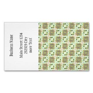 fábrica moderna 04 del modelo tarjetas de visita magnéticas (paquete de 25)
