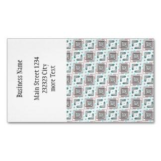 fábrica moderna 04b del modelo tarjetas de visita magnéticas (paquete de 25)
