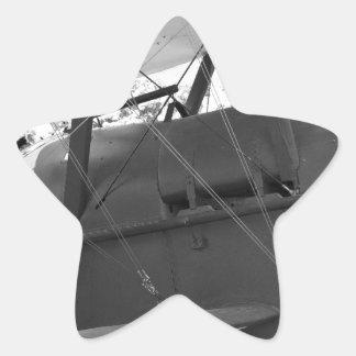 Fábrica real SE.5a de los aviones Pegatina En Forma De Estrella