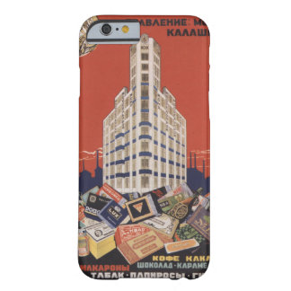 Fábrica soviética funda de iPhone 6 barely there