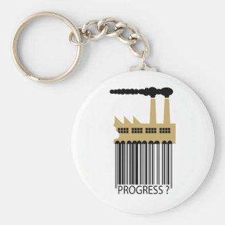 ¿Fábrica y humo - progreso de la clave de barras? Llaveros