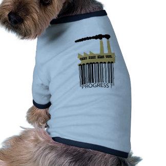 ¿Fábrica y humo - progreso de la clave de barras? Camisas De Perritos