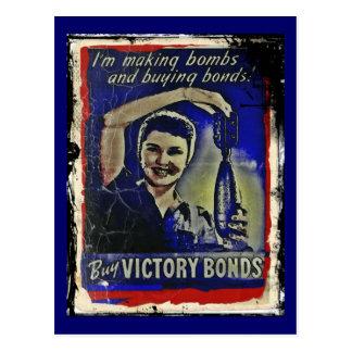 Fabricación de bombas y compra de enlaces tarjetas postales