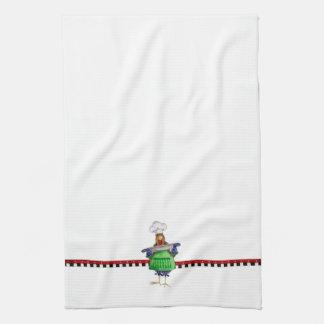 Fabricación de la cazuela toallas de mano