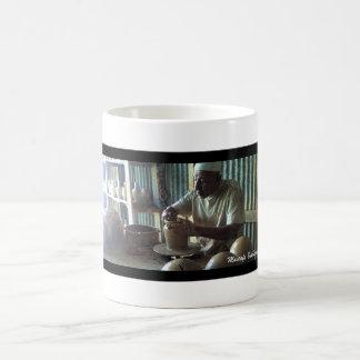Fabricación de la cerámica taza de café