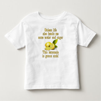 Fabricación de la limonada playera de niño