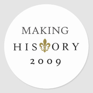 FABRICACIÓN DE LA NACIÓN DE LA HISTORIA 2009 ETIQUETA REDONDA
