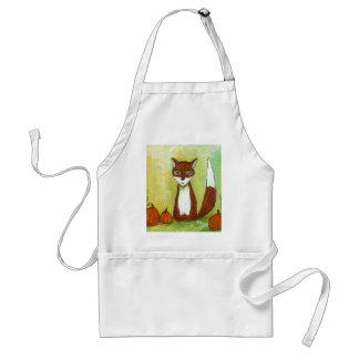 Fabricación de la pintura del arte del Fox del Delantal