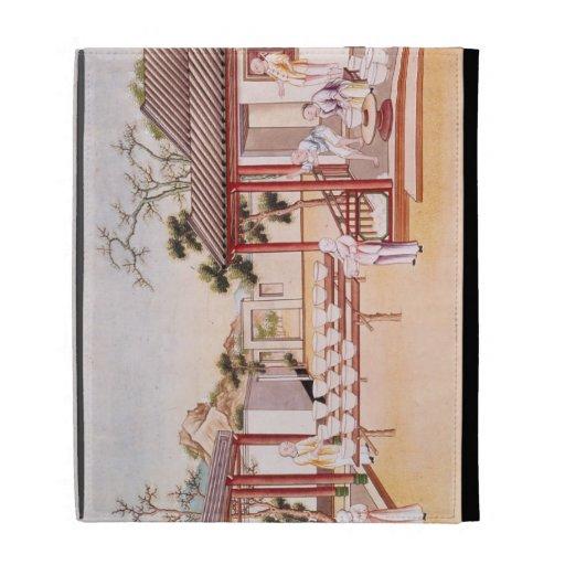 Fabricación de la porcelana (w/c en el papel)