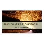 Fabricación de metal y tarjeta de visita de la sol