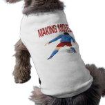 Fabricación de movimientos camisetas de perro