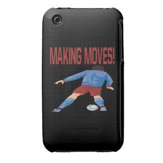 Fabricación de movimientos Case-Mate iPhone 3 protector