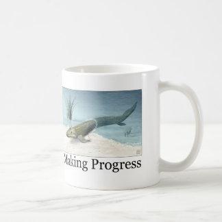 Fabricación de progreso tazas