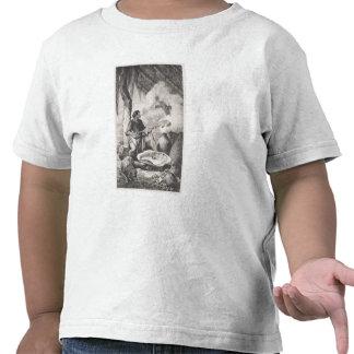 fabricación del India-caucho Camiseta