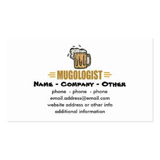 Fabricación divertida de la cerveza plantillas de tarjetas de visita