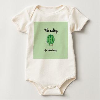fabricación srawberry de la enredadera orgánica body para bebé
