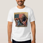 Fabricante 1776 de Betsy Ross de la 1ra bandera de Remera