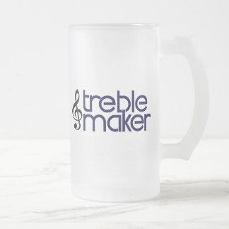 Fabricante agudo taza de cristal