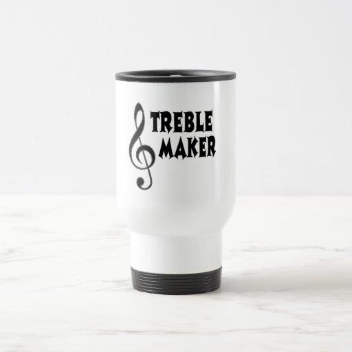 Fabricante agudo tazas de café