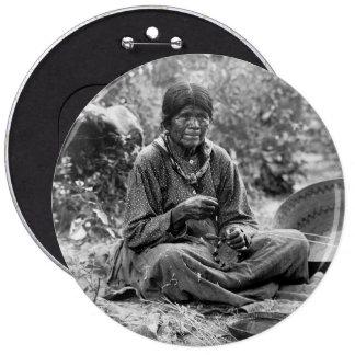 Fabricante de cesta del Paiute, 1902 Pins