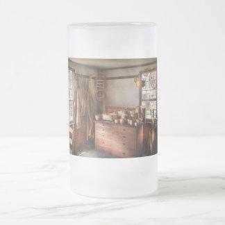 Fabricante de cesta - la casa de los fabricantes jarra de cerveza esmerilada