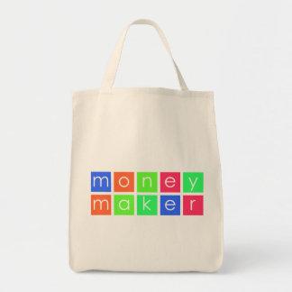 Fabricante de dinero bolsa tela para la compra