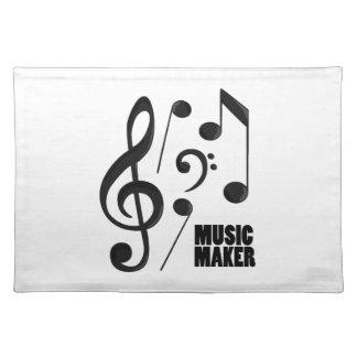Fabricante de la música mantel