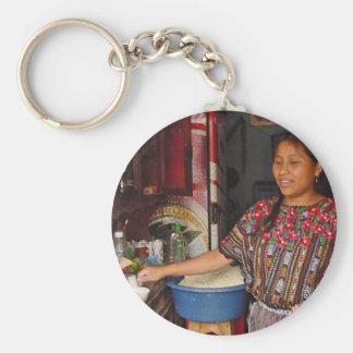Fabricante de la tortilla llavero personalizado