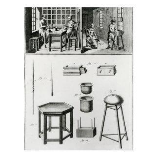 Fabricante de los botones y fabricante del cordón postal