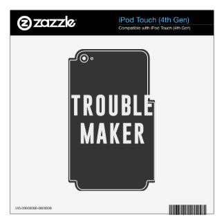 Fabricante de problema iPod touch 4G skins