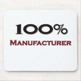 Fabricante del 100 por ciento alfombrilla de ratón
