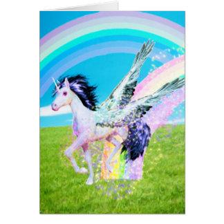 Fabricante del arco iris tarjeta pequeña