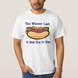 Fabricante del perrito caliente/de la salchicha - playera