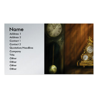 Fabricante del reloj - relojes tarjetas de visita