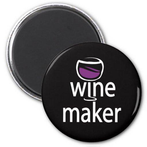 Fabricante del vino iman de frigorífico