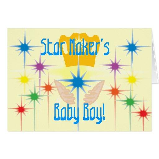 Fabricante-Personalizar de la estrella Tarjeta De Felicitación