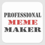 Fabricante profesional de Meme Colcomanias Cuadradas