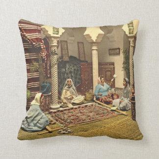 Fabricantes argelinos 1899 de la alfombra almohada
