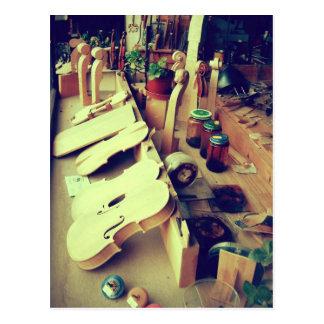 Fabricantes del violín de Mittenwald Postal