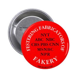 Fabricantes Festering del Fakery. Pin Redondo De 2 Pulgadas
