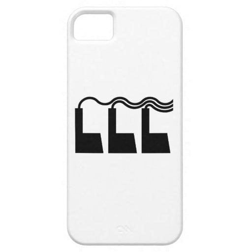 Fábricas que arrogan humo iPhone 5 cárcasa