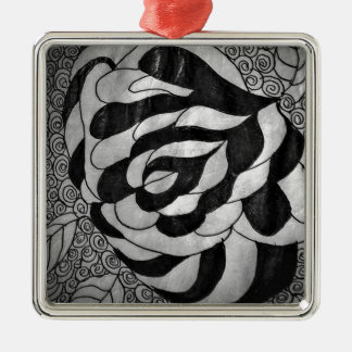 Fabricated Story Intervals Metal Ornament