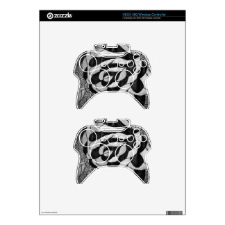 Fabricated Story Intervals Xbox 360 Controller Skin