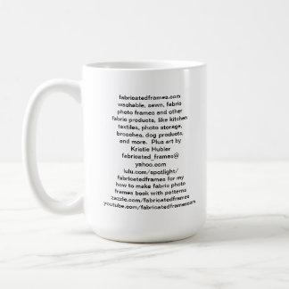 fabricatedframes.com logo Mug