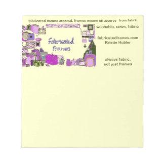 fabricatedframes.com logo Notepad